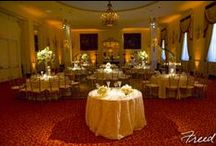 The Mayflower Hotel ~ District, East and State Ballrooms / Photos of the District Ballroom, East Room and State Room at The Mayflower Hotel in Washington DC / by Bergerons Flowers