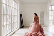 black tie. / Ball gowns galore.