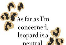 Leopard Love / by Racheal Perdue