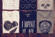 Tee References / Referências sobre camisetas / by Felipe Andrade