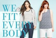 Plus Size Fashion / Classic Lands' End styles for the fuller figure, made with you in mind. / by Lands' End UK