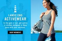 Fitness / Fitness tips and tricks, dieting and high performance ActiveWear  / by Lands' End UK