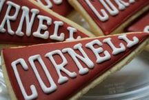Creative Cornell Cakes and Cupcakes / Great inspiration for Cornell related cakes, cupcakes and other treats. Perfect for graduations, accomplishments, and milestones.
