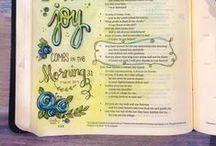 Bible Journaling / Bible journaling tips, hints, and examples