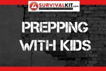 Prepping With Kids