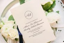 Wedding Ceremony Programs / Card, Packet, Fold, Book, Simple, Classic