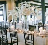 White Weddings / White, Ivory, Centerpieces, Hydrangea, Roses, Ranunculus, Anenomes, Orchids, Summer, Modern, Classic, Romantic