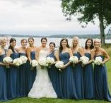 Blue Weddings / Blue, Light Blue, Slate, Navy, Midnight, Teal, Soft, Vintage, Romantic, Whimisical, Centerpieces, Candles, Thistle, Hydrangea