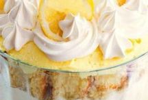 Lemon Lust / Everything lovely lemon. Lemon pies, cookies, cakes and more!