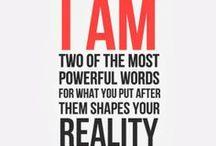 The Power of Words / by Rachel Dyann