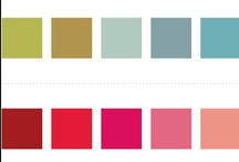 Color Combinations / Design Inspirations. / by Colleen Dunbar