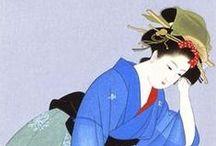 □□ Japanese paintings / 日本画にはそれほど傾倒していない。でも繊細な美学は感じちゃうの。 / by Isao Wakasugi