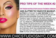 CHIC Pro Beauty Tips / Beauty, Hair and Makeup Tips or Techniques from our Professional Makeup Team!