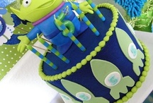 Tre's 3rd birthday party ideas / by Jamie Dominguez
