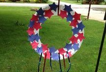 Holidays: Patriotic / Crafts, entertainment, and safety on the 4th of July, Memorial Day, and Labor Day Weekends