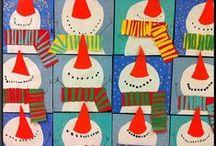 Art Lesson Inspiration- Kinder / by Jess Jo
