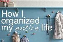 Home: Organization / Organizing all areas of life - house, paper, photos and more.
