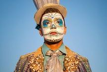 [ DIY et Idées ] Halloween  maquillage / #maquillage#makeup#dayofthedead#skullcatrina#jourdesmorts