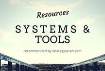 Resources & Tools / I'm a bit of a junkie for people's resource pages and love seeing what people use and recommend for businesses.