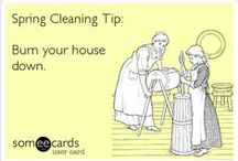Hacks: Cleaning  / Clean your home faster , easier and better with these cleaning hacks.  Save time and elbow grease next time you clean