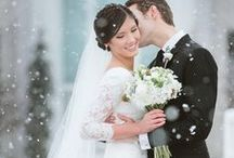 Dream Winter Wedding / Everything winter for a perfect frosty wedding in december or January!