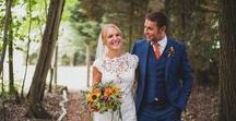 Claire & Jason / The Wedding of Claire & Jason Super colourful natural style florals by Dorset's Wedding Florist: Concept Flowers Venue: The Old Vicarage Photography: Bridle Photography