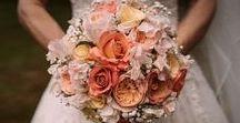 Shaz & Justin / The Wedding of Shaz & Justin Saw us Combining LOTS of Gold Glitter with peach and cream tones  #realwedding #realflorist #realflowers #weddinginspiration