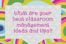 Classroom Management Ideas and Tips / A collection of management resources to use in the classroom. Concentrate on keeping your classes under control…if you can develop that skill as a first-year teacher, you will be way ahead of the curve! Classroom management requires more of the teacher's time and energy as any other academic subject. Classroom management provides the foundation for all instruction. Read Harry Wong and Fred Jones' book. Never smile before Christmas. Smiling puts you at their mercy, they'll eat you alive.  / by Alicia Eyer