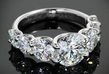 Engagement Rings / Some beautiful sparkling engagement rings / by Beauty Muse