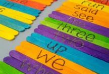 Sight Words / Sight words and engaging ways to teach. / by Janie Hogan