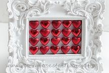 Crafts--Hearts / My love of hearts draws me to collect just about anything pertaining to!