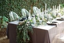 Terrific Tablescapes / We love tablescapes! From the linen to the china to the glassware, a tablescape can make or break your event design. Check out some of our favorites!