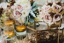 Creative Centerpieces / Centerpieces can make a break a table. Check out some fabulous centerpiece ideas we love!