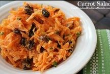 Recipes- Carrots / The best carrot recipes all in one place! / by Mavis Butterfield