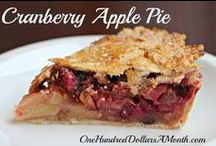 Recipes- Pies / All of my favorite pie recipes in one spot! / by Mavis Butterfield