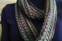 Knitted Neckwear / Knitted scarves, cowls, neck warmers and neckerchiefs