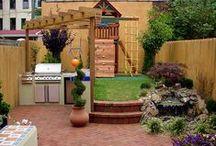 Garden for the kids / Ideas to make a fun garden for the children