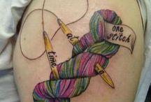 Knitting Tattoos