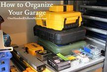 Organization / Organization, Organization Tips, How to Organize, Closet Organization, Kitchen Organization, Laundry Organization, Garage Organization, Kids Room Organization