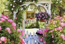 Garden Gates / Who knew garden gates could be so cool?