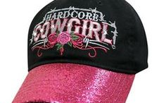 Womens Hats / Trendy women's cowboy hats, baseball caps, and colorful visors.