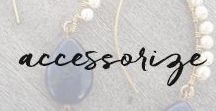 accessorize. / Handmade jewelry with all-natural stones is best complemented by boots, bags, and other beautiful accessories.