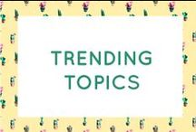 Bershka is...TRENDING TOPICS / This is one fashion edit no Fashionista wants to miss! #BershkaTrends / by Bershka