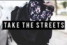 Bershka is...TAKE THE STREETS / Join us as we take to the streets to find the hottest Bershka looks! #BershkaTakeTheStreets / by Bershka