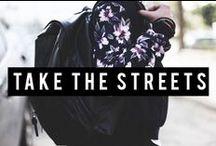 Bershka is...TAKE THE STREETS / Join us as we take to the streets to find the hottest Bershka looks! #BershkaTakeTheStreets / by Bershka