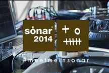 #Sonar / Proud sponsors of Sonar Barcelona 2014...and we Just. Can't. Wait! #MeetMeInSonar / by Bershka