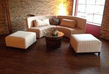 Lovely Lounge Seating / Lounge Seating is a fun way to add some character to your wedding - guests are sure to enjoy!