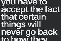 Letting go / Acceptance / by Janie Hogan