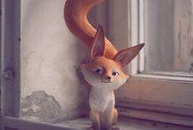 fox / by Banu Ergen