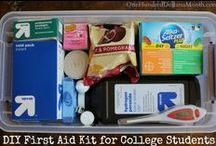 College Life / Care Packages, Care Packages for College Students, Dorm Life, Tips for Living in the Dorms, Graduation Presents, Care Packages Ideas, Dorm Room, College Student Discounts